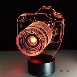3D λάμπα LED Canon Camera