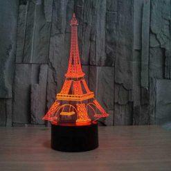 3D λάμπα LED Πύργος Άιφελ