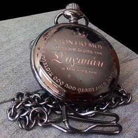 Ρολόι τσέπης προσωποποιημένο